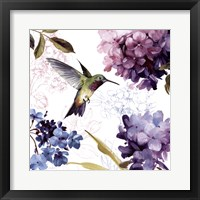 Spring Nectar Square II Framed Print