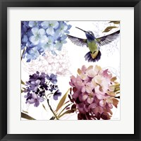 Spring Nectar Square III Framed Print
