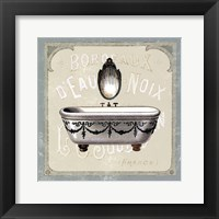 Framed Parisian Bath I
