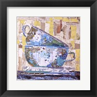 For Tea on Neutral Framed Print