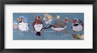 Framed Birds on a Wire II