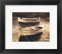 Framed Sienna Boats