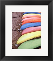 Framed Kayaks I
