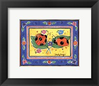 Framed Ladybugs