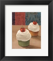 Framed Cherry Cupcakes II