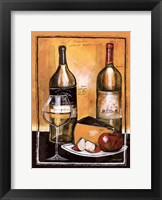 Wine Notes I Framed Print