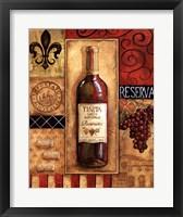 Reserva Tenuta Framed Print