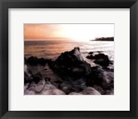 Framed Lover's Point Sunset II - mini
