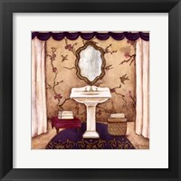 Framed Purple Passion Sink II