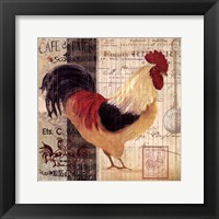 Cockerel I Framed Print