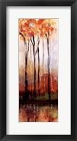 Framed Treeline Panel I
