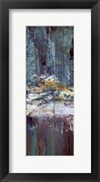 Framed Deep Water Panel I