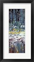 Framed Deep Water Panel II