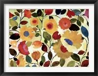 Framed Sienna Garden - ovsz
