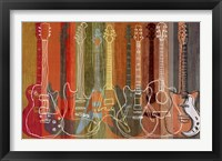 Framed Guitar Heritage