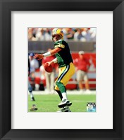 Framed Brett Favre - 2003 Action
