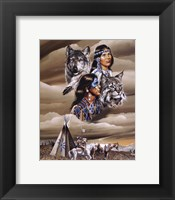 Framed Spirit of the Tribe