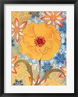 Framed Sunrise Poppy