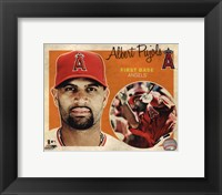 Framed Albert Pujols 2012 Studio Plus