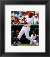 Framed Carlos Beltran 2012 Action