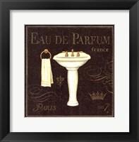 Framed Bain De Luxe III
