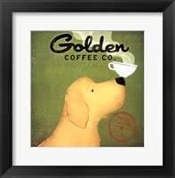 Framed Golden Dog Coffee Co.