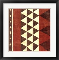 Framed Patterns of the Savanna I