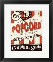 Movie Night II Framed Print