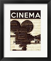 Cinema I Framed Print