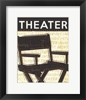 Cinema III Framed Print