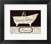 French Lace II Framed Print