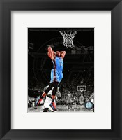 Framed Russell Westbrook 2011-12 Spotlight Action