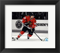 Framed Patrick Kane 2011-12 Spotlight Action