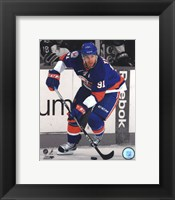 Framed John Tavares 2011-12 Spotlight Action