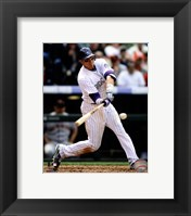 Framed Troy Tulowitzki 2012 Batting Action
