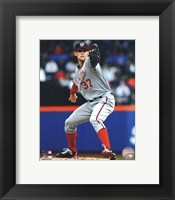 Framed Stephen Strasburg 2012 Action