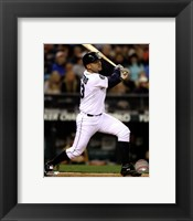 Framed Jesus Montero 2012 Action