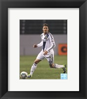 Framed David Beckham 2012 Action