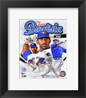 Framed Jose Bautista 2012 Portrait Plus