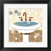 Framed Dancing Bubbles I