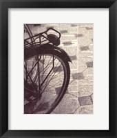 Framed La Bicyclette III