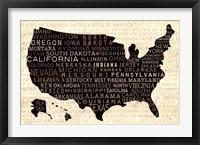 Framed USA V