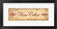 Framed Wine Cellar
