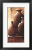 Framed Vase Trio II