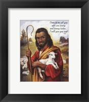 Framed Christ the Shepherd