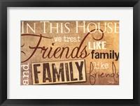 Framed Family & Friends