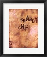 Framed Shabby Chic