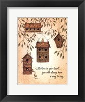 Framed Song To Sing