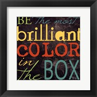Most Brilliant Framed Print