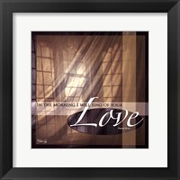 Framed Your Love